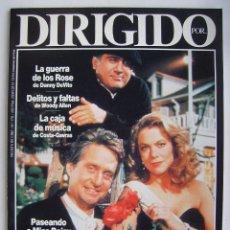 Cine: REVISTA DIRIGIDO POR, Nº 178. 1990. Lote 218600426