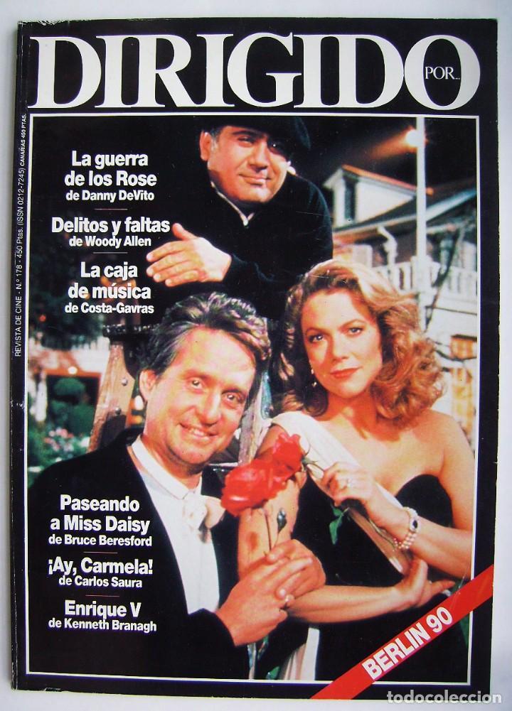 REVISTA DIRIGIDO POR, Nº 178. 1990 (Cine - Revistas - Dirigido por)