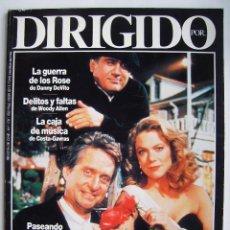 Cine: REVISTA DIRIGIDO POR, Nº 178. 1990. Lote 218600723