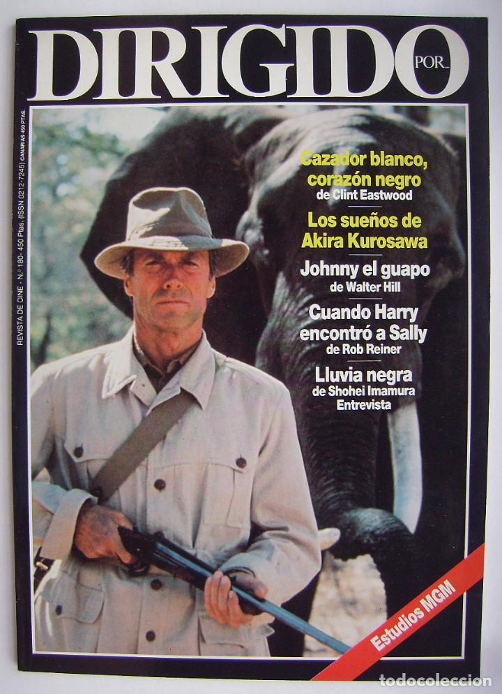 CLINT EASWOOD. REVISTA DIRIGIDO POR, Nº 180. 1990 (Cine - Revistas - Dirigido por)