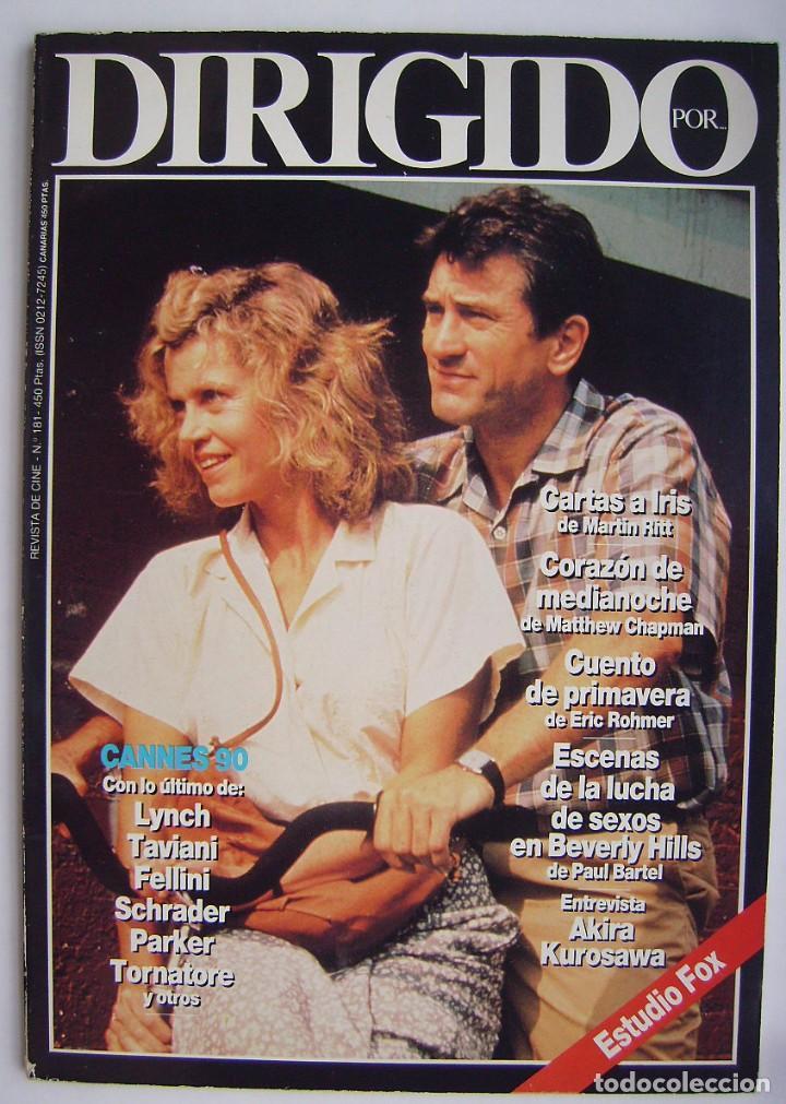 ROBERT DE NIRO. REVISTA DIRIGIDO POR, Nº 181. 1990 (Cine - Revistas - Dirigido por)