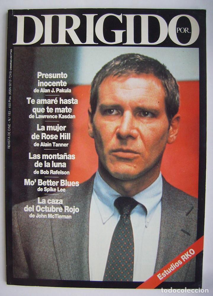 HARRISON FORD. REVISTA DIRIGIDO POR, Nº 183. 1990 (Cine - Revistas - Dirigido por)
