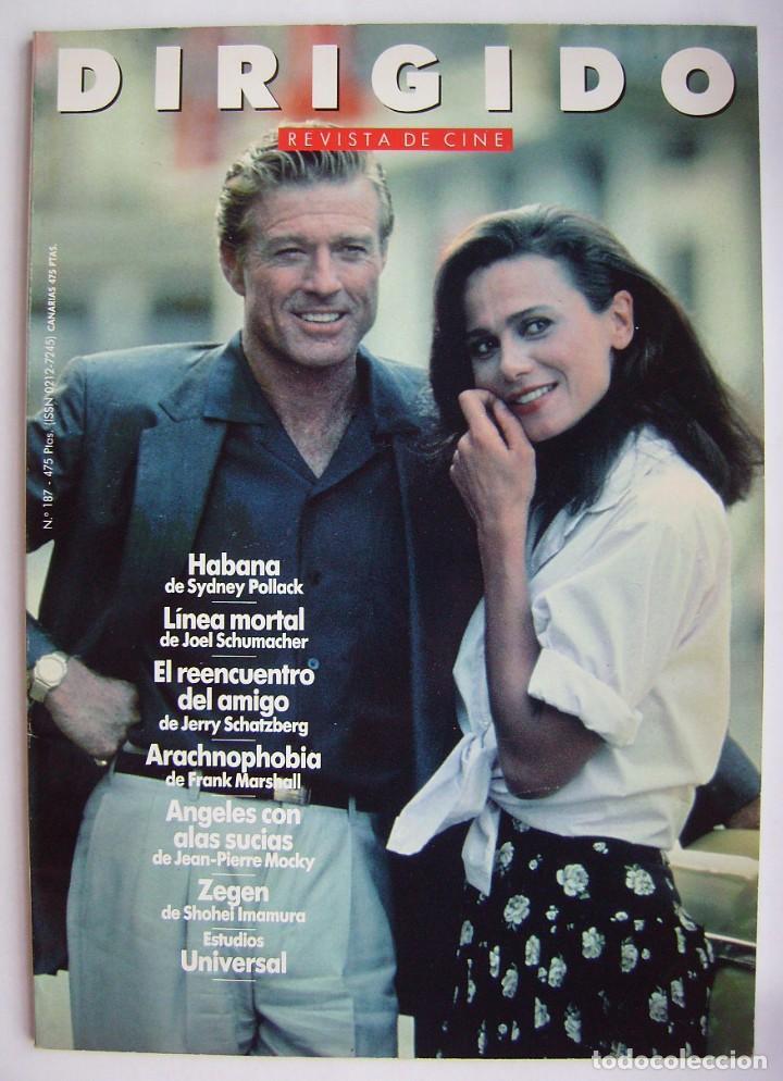 ROBERT REDFORD. REVISTA DIRIGIDO POR, Nº 187. 1991 (Cine - Revistas - Dirigido por)
