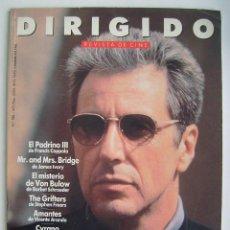 Cine: AL PACINO. REVISTA DIRIGIDO POR, Nº 188. 1991. Lote 218603121