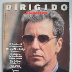 Cine: AL PACINO. REVISTA DIRIGIDO POR, Nº 188. 1991. Lote 218603400