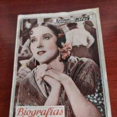 Cine: ESTRELLITA CASTRO BIOGRAFÍAS DEL CINEMA EDITORIAL ALAS AÑOS 30. Lote 218794241