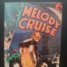 Cine: MELODY CRUISE. Lote 218896732