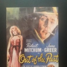 Cine: OUT OF THE PAST. Lote 218898191