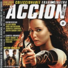 Cine: ACCION N. 1311 NOVIEMBRE 2013 - EN PORTADA: LOS JUEGOS DEL HAMBRE, EN LLAMAS (NUEVA). Lote 219045242