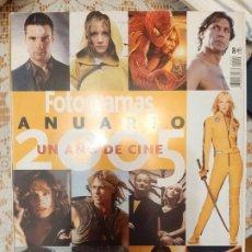 Cine: ANUARIO FOTOGRAMAS 2005. Lote 219177062