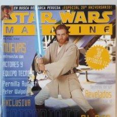 Cine: STAR WARS MAGAZINE Nº 4 NOVIEMBRE/DICIEMBRE 2001. Lote 219198532