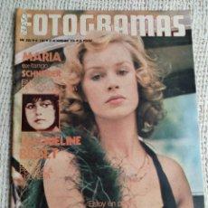 Cine: NUEVO FOTOGRAMAS Nº 1363 - 1974 - MARIA SCHNEIDER - JACQUELINE BISSET - MARIBEL MARTIN. Lote 219310683