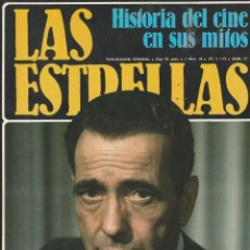 Cine: HUMPHREY BOGART Nº 17 LAS ESTRELLAS.HISTORIA DEL CINE EN SUS MITOS.URBION.1980.POSTER LANA TURNER. Lote 219319566