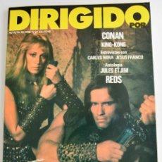 Cine: NÚMERO 92. REVISTA DIRIGIDO POR. DOSSIER EROTISMO Y PORNOGRAFÍA. CONAN, KING-KONG, JULES ET JIM.1982. Lote 219324720