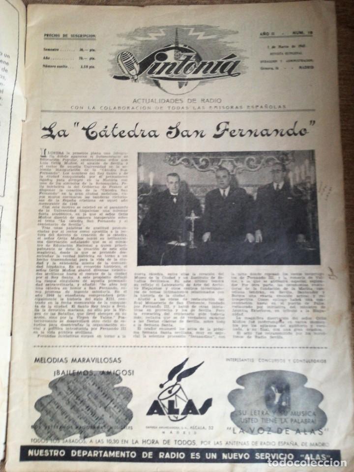Cine: Revista Sintonía,actualidades de Radio num 19 - Foto 2 - 219356751