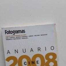Cine: (SEVILLA) REVISTA FOTOGRAMAS - ANUARIO 2008. Lote 219372582