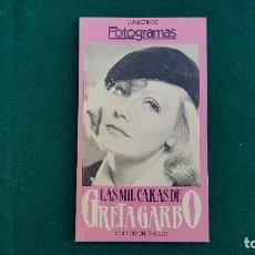 Cine: LIBRO SUPLEMENTO FOTOGRAMAS LAS MIL CARAS DE GRETA GARBO (1986). Lote 219399676