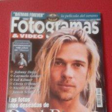 Cine: ANTIGUA REVISTA MAGAZINE FOTOGRAMAS Nº 1820 JUNIO 1995 BRAD PITT LOLA FLORES BATMAN ETC...VER FOTOS.. Lote 219464476