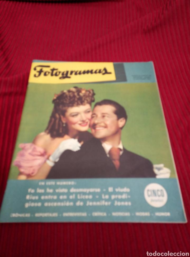 REVISTA FOTOGRAMAS. AÑO 1946. (Cine - Revistas - Fotogramas)