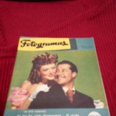 Cine: REVISTA FOTOGRAMAS. AÑO 1946.. Lote 219522762