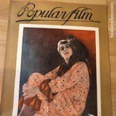 Cine: REVISTA POPULAR FILM DIC 1927 GOESTA ECKMAN.RAMON NOVARRO BEN HUR.DOUGLAS FAIRBANKS.POLA NEGRI.. Lote 219557483