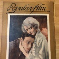 Cine: REVISTA POPULAR FILM DIC 1927 H B WARNER ANNA Q NILSSON.EVELYN BRENT.LILY DAMITA. Lote 219557861
