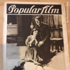 Cine: REVISTA POPULAR FILM ENE 1928 CLIVE BROOK POLA NEGRI.MARY PICKFORD.NAPOLEON ABEL GANCE.COLLEEN MOORE. Lote 219560080