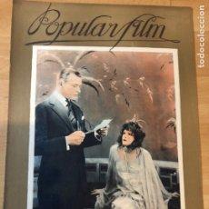 Cine: REVISTA POPULAR FILM ABR 1927 ANTONIO MORENO.FLORENCE VIDOR.LIENE HAID.. Lote 219560741