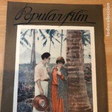 Cine: REVISTA POPULAR FILM MAY 1927 SEENA OWEN.BEN HUR RAMON NOVARRO.METROPOLIS FRITZ LANG.CELIA ESCUDERO. Lote 219560993