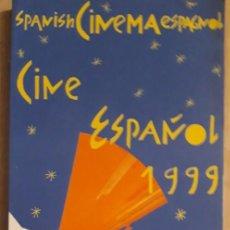 Cine: 1 GUIA DE ** CINE ESPAÑOL 1999 ** MEC. 2000 . LUCIANO Y WIRO BERRIATUA. Lote 219630106