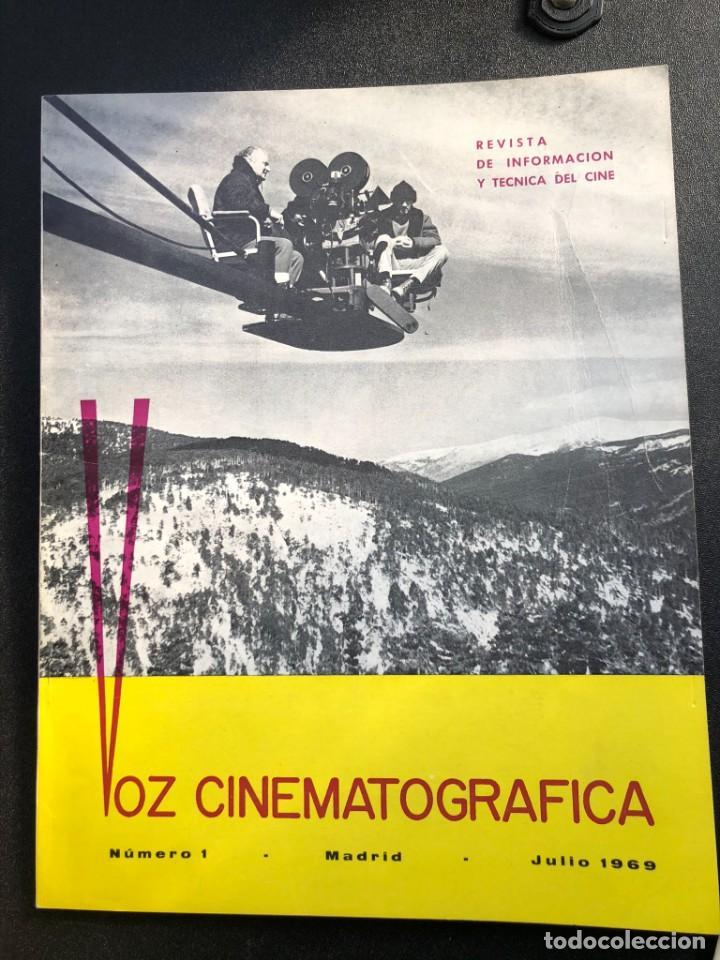 LOTE DE 3 ANTIGUAS REVISTAS DE INFORMACIÓN Y TECNICA DEL CINE (Cine - Revistas - Cámara)