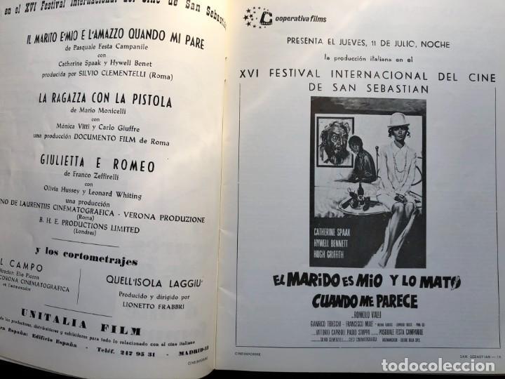 Cine: LOTE DE 3 ANTIGUAS REVISTAS DE INFORMACIÓN Y TECNICA DEL CINE - Foto 11 - 219661228