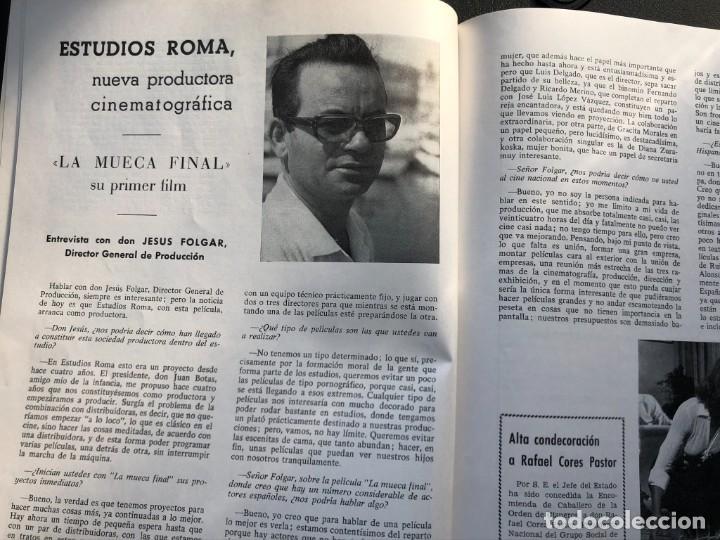 Cine: LOTE DE 3 ANTIGUAS REVISTAS DE INFORMACIÓN Y TECNICA DEL CINE - Foto 15 - 219661228