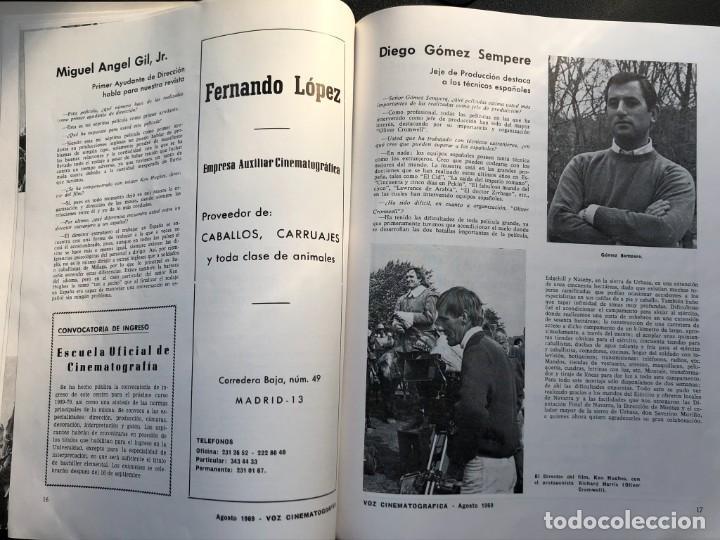 Cine: LOTE DE 3 ANTIGUAS REVISTAS DE INFORMACIÓN Y TECNICA DEL CINE - Foto 16 - 219661228