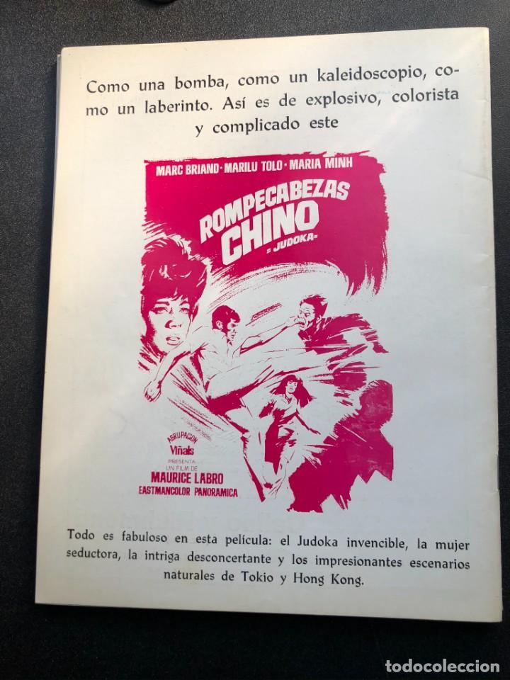 Cine: LOTE DE 3 ANTIGUAS REVISTAS DE INFORMACIÓN Y TECNICA DEL CINE - Foto 21 - 219661228