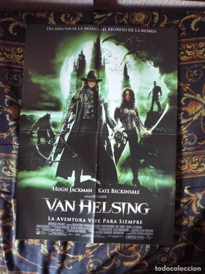 CARTEL DOBLE 40X60 APROX DE LAS PELICULAS: VAN HELSING Y EL PRINCIPE Y YO (Cine - Reproducciones de carteles, folletos...)