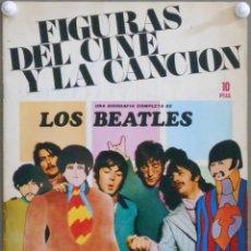 Cine: G6179D LOS / THE BEATLES REVISTA FIGURAS DEL CINE Y LA CANCION BIOGRAFIA COMPLETA. Lote 219766431