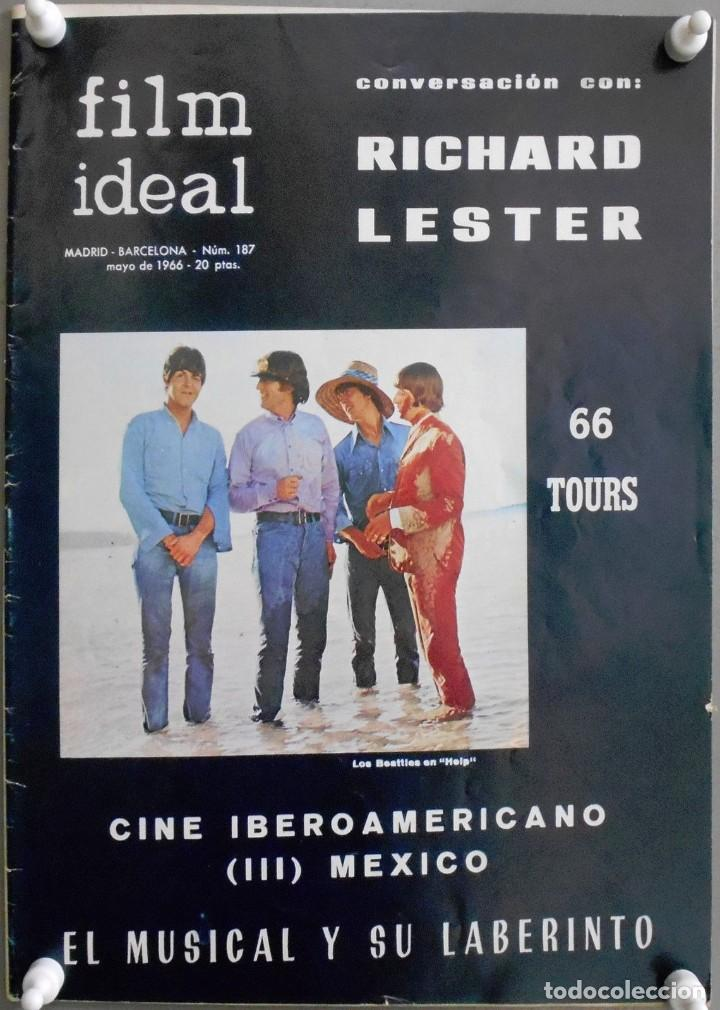 XN42D THE BEATLES HELP RICHARD LESTER REVISTA 1966 FILM IDEAL 187 (Cine - Revistas - Film Ideal)
