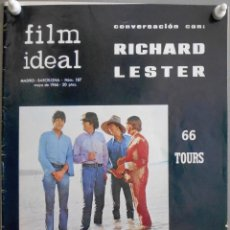 Cine: XN42D THE BEATLES HELP RICHARD LESTER REVISTA 1966 FILM IDEAL 187. Lote 219767512