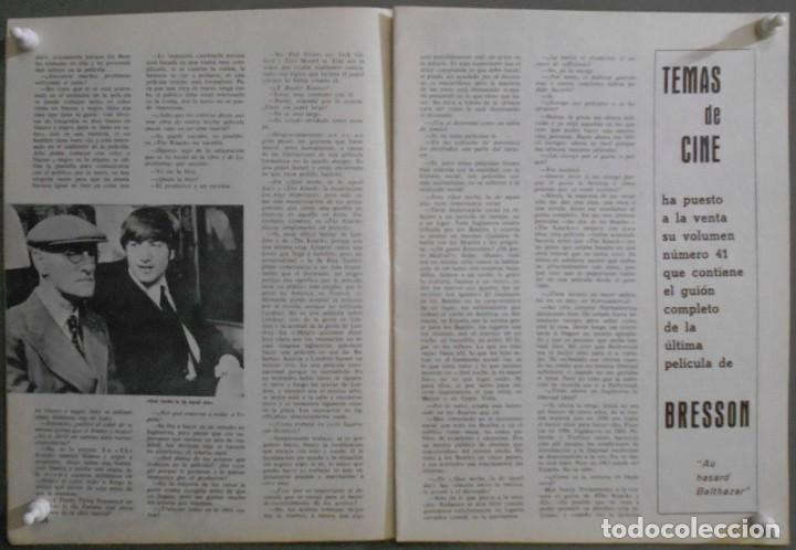 Cine: XN42D THE BEATLES HELP RICHARD LESTER REVISTA 1966 FILM IDEAL 187 - Foto 2 - 219767512