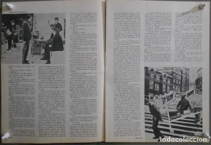Cine: XN42D THE BEATLES HELP RICHARD LESTER REVISTA 1966 FILM IDEAL 187 - Foto 3 - 219767512