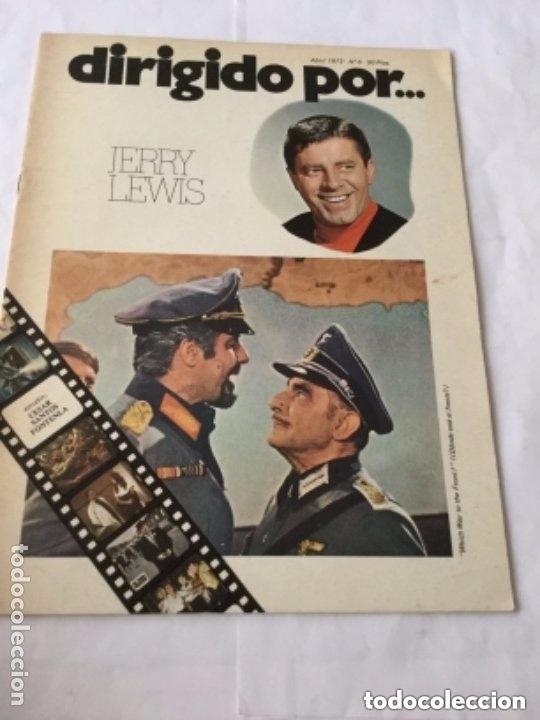 DIRIGIDO POR - JERRY LEWIS - NUM.6 (Cine - Revistas - Dirigido por)