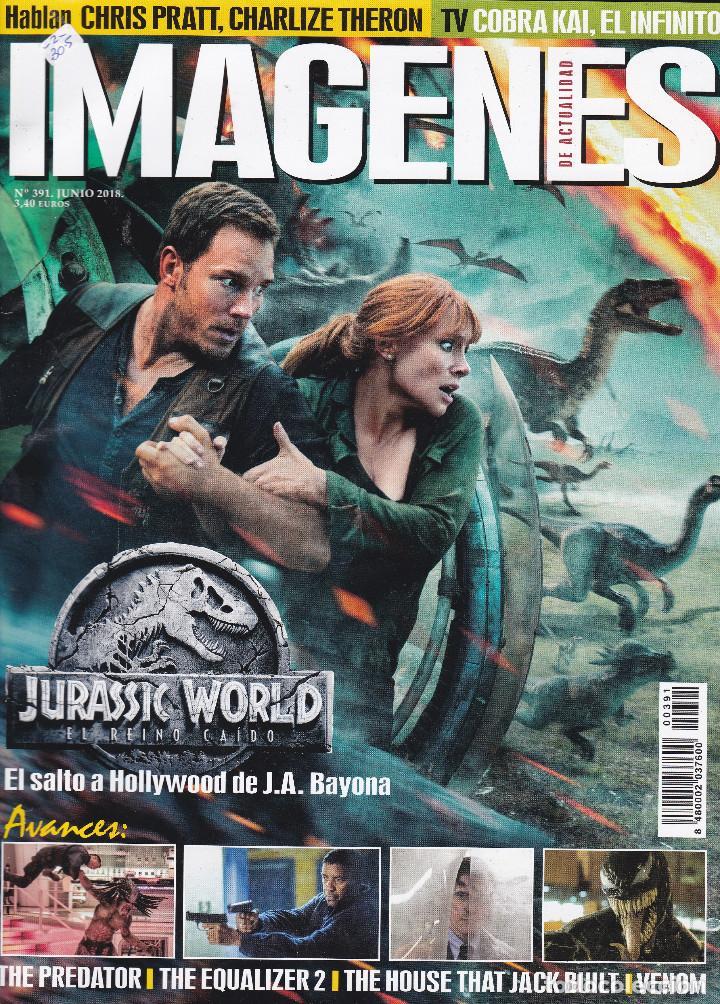 REVISTA IMAGENES Nº 391 (Cine - Revistas - Imágenes de la actualidad)