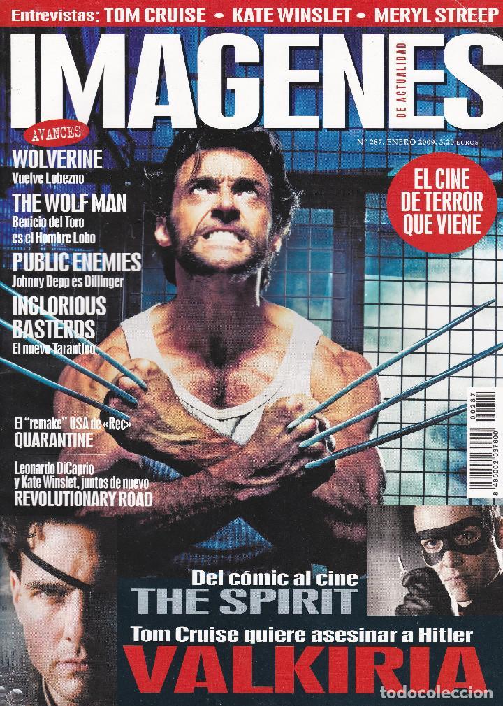 REVISTA IMAGENES Nº 287 (Cine - Revistas - Imágenes de la actualidad)