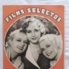 Cine: FILMS SELECTOS N⁰ 80. Lote 219965316