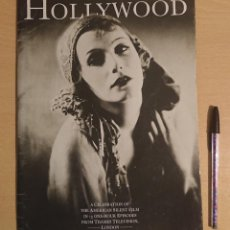 Cinema: HOLLYWOOD A CELEBRATION OF THE AMERICAN SILENT FILM IN 13 ONE-HOUR EPISODES FROM THAMES TV CATALOGUE. Lote 220101705