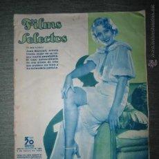 Cine: ANTIGUA REVISTA FILMS SELECTOS - NUMERO 228 - AÑO 1935. Lote 220116456