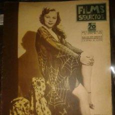 Cine: ANTIGUA REVISTA FILMS SELECTOS - NUMERO 241 - AÑO 1935. Lote 220116503