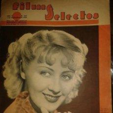Cine: ANTIGUA REVISTA FILMS SELECTOS - NUMERO 255 - AÑO 1935. Lote 220116645