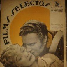 Cine: ANTIGUA REVISTA FILMS SELECTOS - NUMERO 272 - AÑO 1936. Lote 220116710